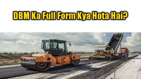 DBM Full Form In Civil Engineering